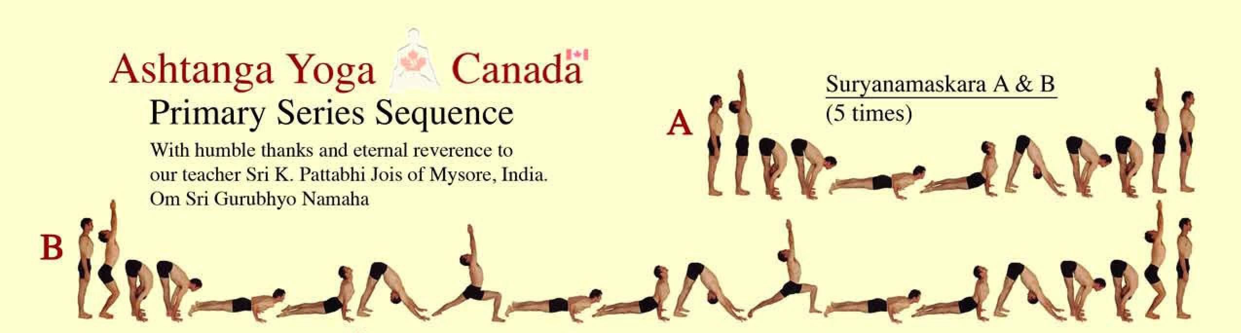 Ashtanga Yoga Primary Series Sequence